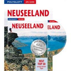 Buch + DVD:  Neuseeland. Polyglott Apa Guide. Premium Edition