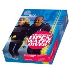 PADI: Advanced Open Water Diver AOWD Kit - Deutsch
