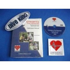 PADI: Emergency First Response Manual + EFR DVD