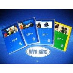 PADI: DVD Set - OWD, AOWD, RESCUE, NITROX