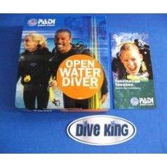 PADI: Open Water Diver DVD Kit - blaue Version (OWD)