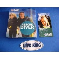 PADI: Rescue Diver DVD Kit - blaue Version - deutsch