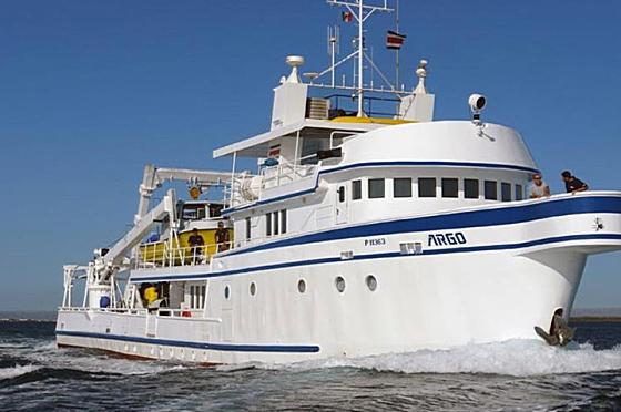 Luxusyacht MV Argo