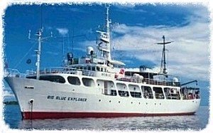 Big Blue Explorer, Palau, Micronesia