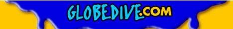 Globedive, die globale Welt des tauchens