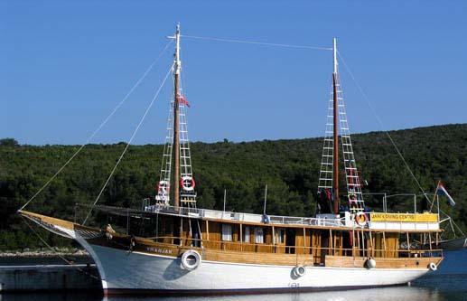 Tauchkreuzfahrten in Kroatien - Tauchen in den Kornaten