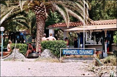 Mandel Diving Center, Morcone Isola d'Elba