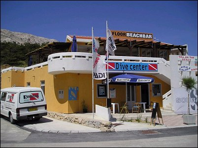 Squatina diving, Baska