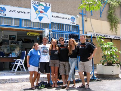 Tauchschule Ocean Trek auf Teneriffa