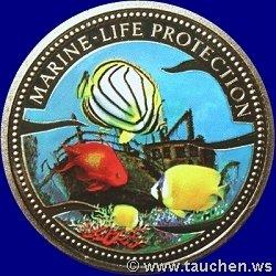 Palau 1$ Farbmünzen