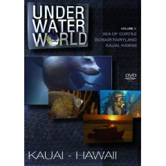 DVD: Under Water World: Kauai, Hawaii